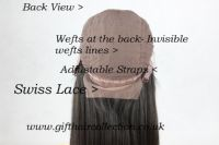 Full Glueless Lace Wig Virgin Hair BODY WAVE